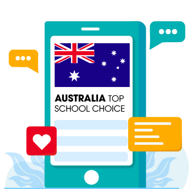 Icon, Landing Page, Yes Study Education Group, Oct 2020_Australia Top School Choice C