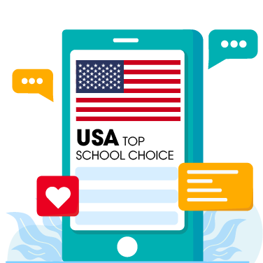 Icon, Landing Page, Yes Study Education Group, Oct 2020_US Top School Choice C
