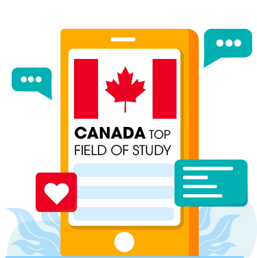 Icon, Landing Page, Yes Study Education Group, Oct 2020_Canada Top School Field of Study